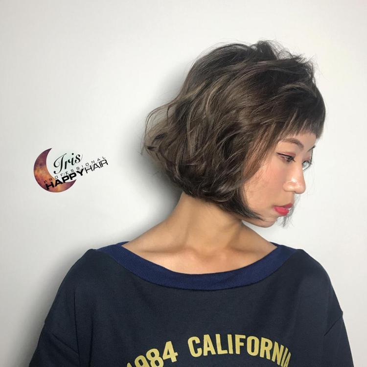 髮型創作/Iris艾瑞絲《曼萱》。圖/HairMap美髮地圖提供