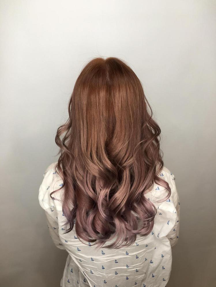 髮型創作/JoEy Lin。圖/HairMap美髮地圖提供