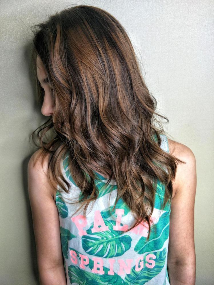 髮型創作/Coco。圖/HairMap美髮地圖提供