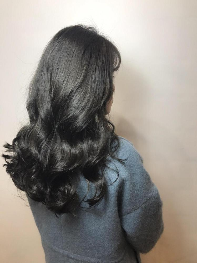 髮型創作/Nina。圖/HairMap美髮地圖提供