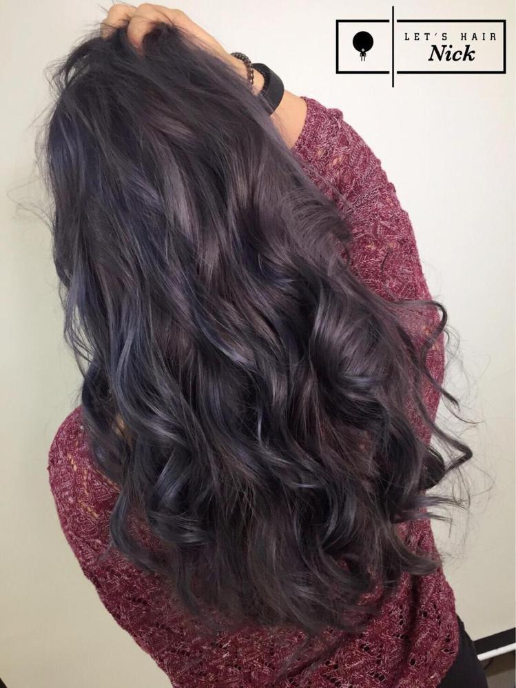 髮型創作/Nick Chen 。圖/HairMap美髮地圖提供