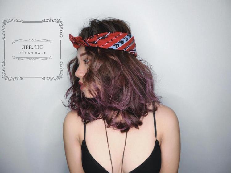 髮型創作/賈柏尼。圖/HairMap美髮地圖提供