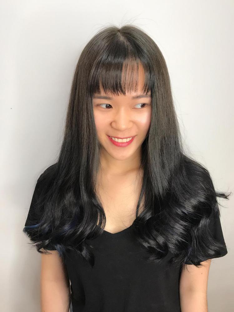 髮型創作/Anna Xie 。圖/HairMap美髮地圖提供