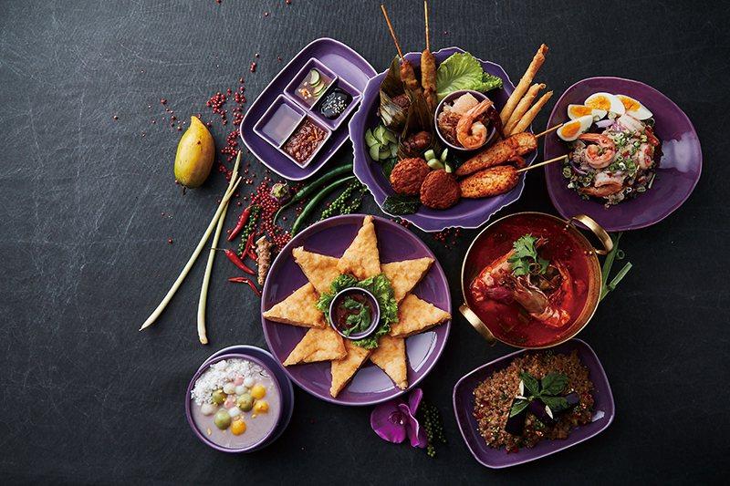 NARA什錦拼盤價格店洽/豐富的拼盤中可吃到多種菜色,很適合三五好友一同分食。