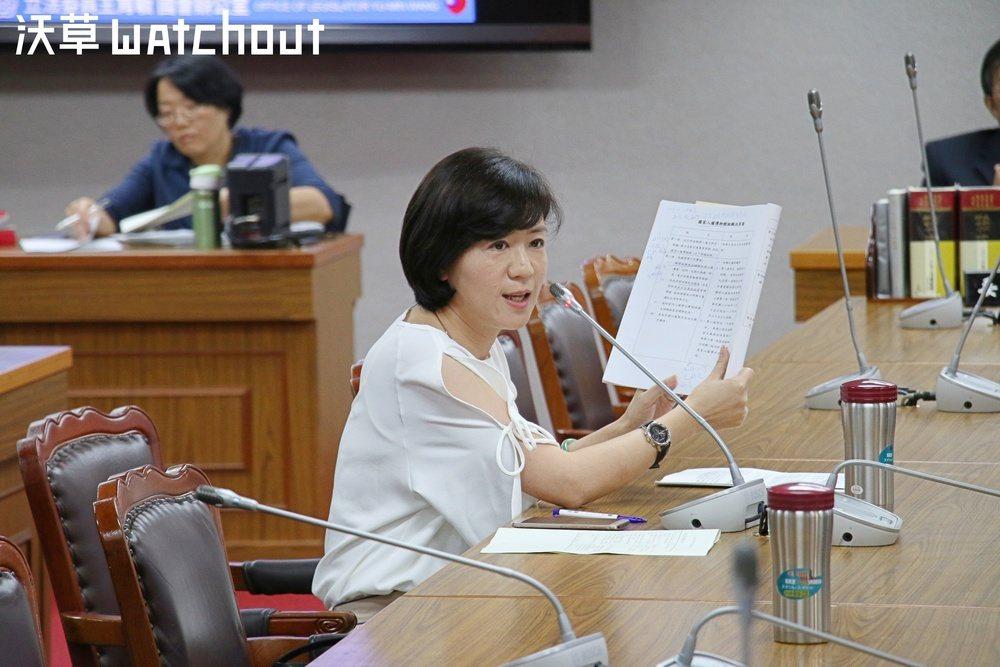國民黨立委王育敏。聯合報系記者蕭長展/攝影