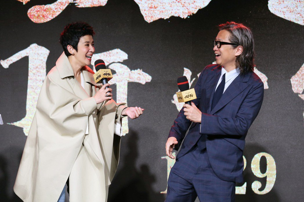 吳君如首度自導自演推出新片「妖妖鈴」,還找來「孩子的爸」陳可辛當監製。圖/甲上提