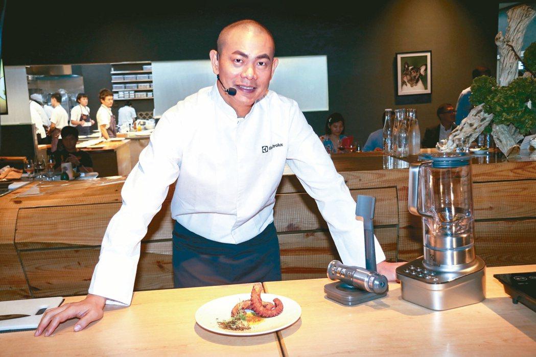 台灣第一位米其林主廚、亞洲五十大名廚江振誠宣布歸還米其林二星,位於新加坡法式料理...