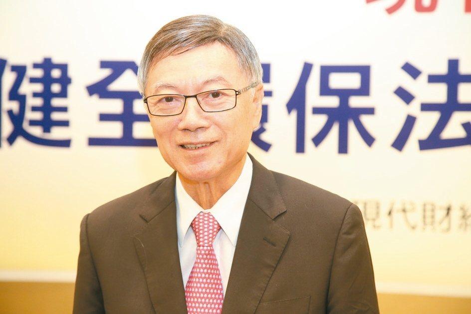 李伸一(現代財經基金會副董事長) 毛洪霖/攝影
