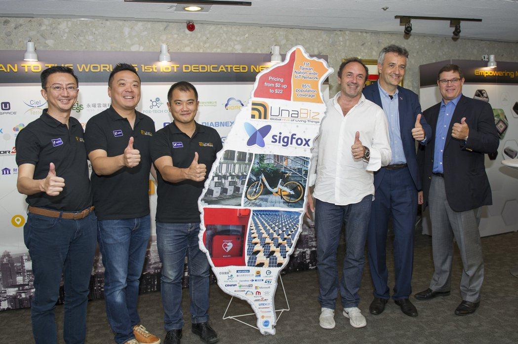 (左起) 優納比商業部業務總監Jonathan tan、優納比台灣總經理暨共同創...
