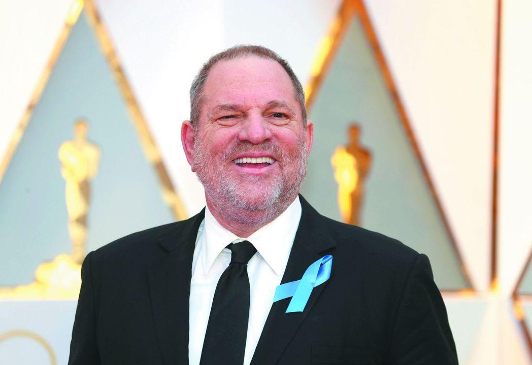 好萊塢製片大亨溫斯坦(Harvey Weinstein)在性醜聞風波愈演愈烈之際