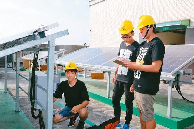 弘光科大核准為「太陽光電設置職類乙級技術士技能檢定術科」考場。