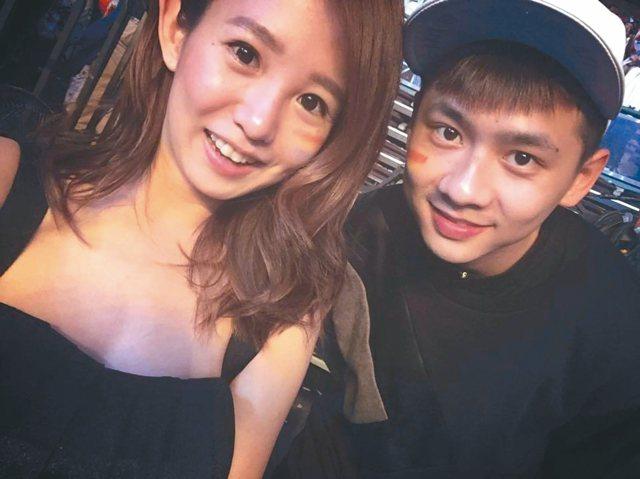 瑤瑤以簡訊證實與金陽已分手,維持4年的姐弟戀正式畫下句點。
