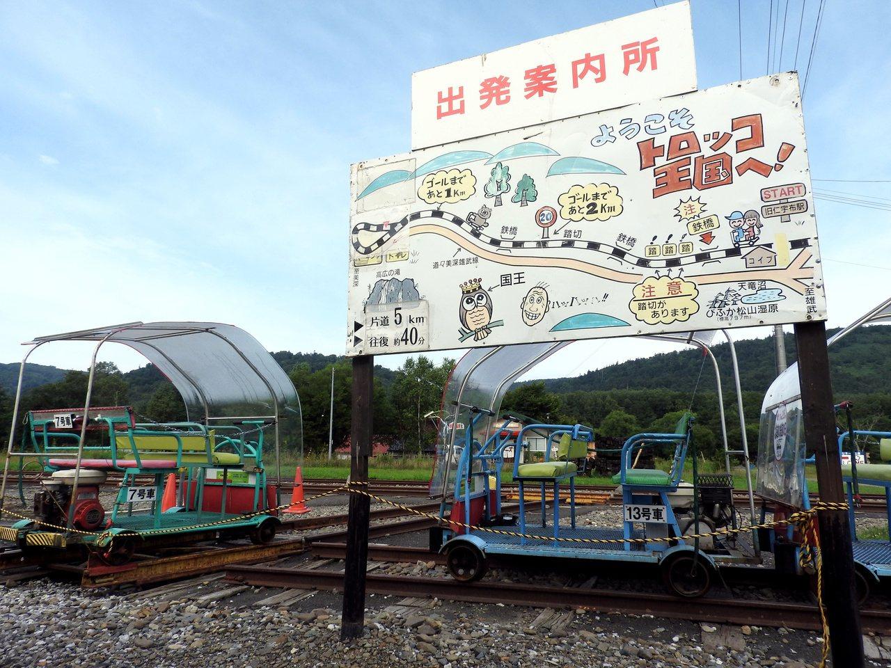 鐵道全長5公里、來回約40分鐘。 圖/記者魏妤庭