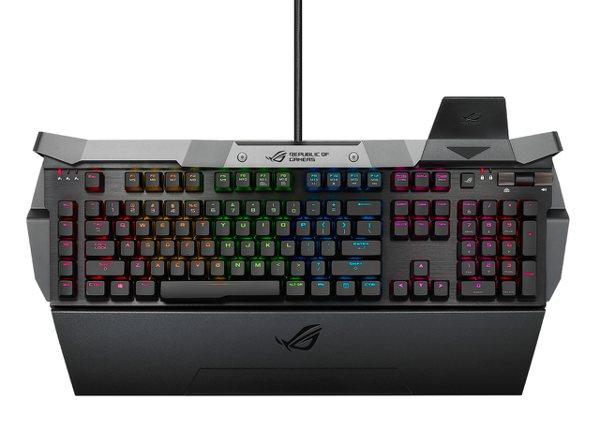 ROG Horus GK2000 RGB機械式電競鍵盤。