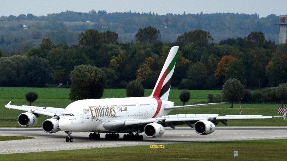 A380客機。 圖/取自畫報官網