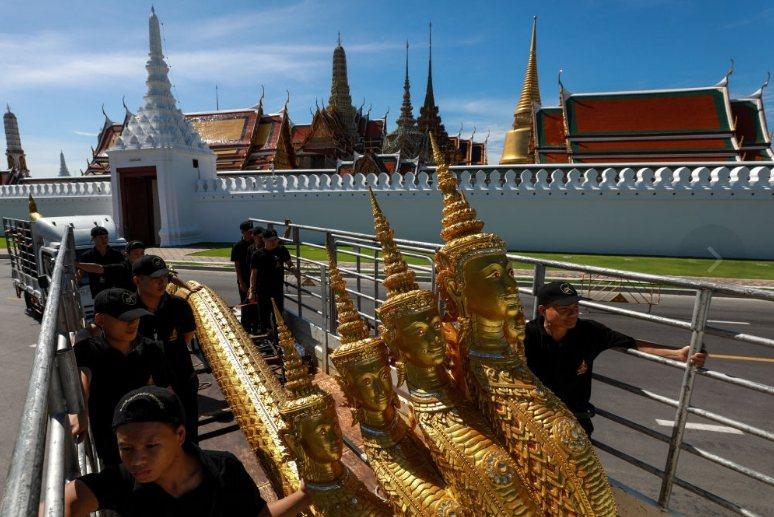 泰國王室火化葬禮將自25日起一連舉行5天。 路透