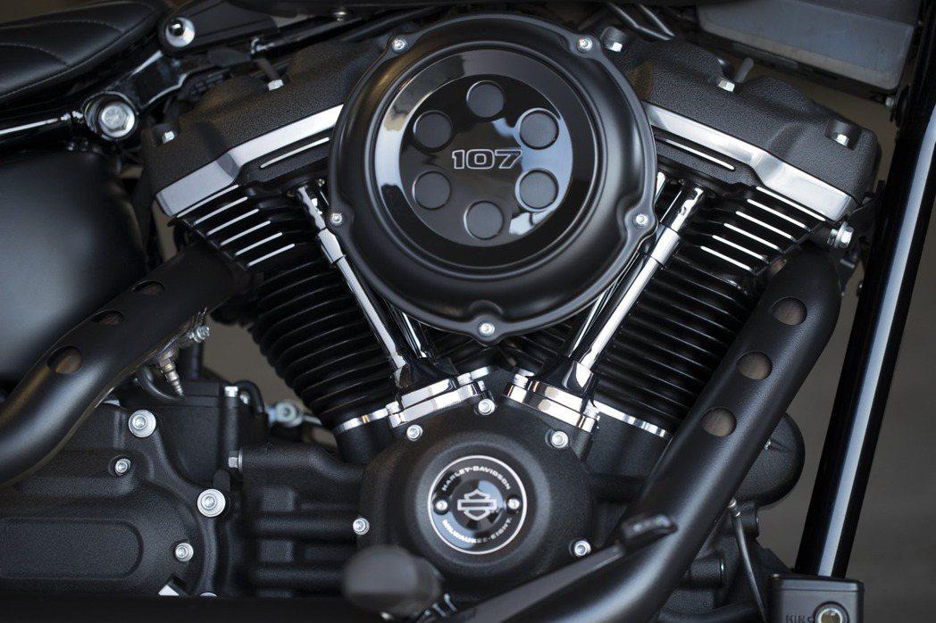 Milwaukee-Eight引擎。圖/太古鼎翰提供