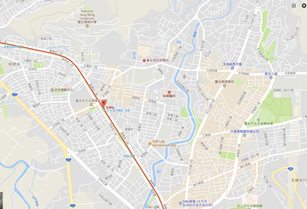 圖片來源/截圖自Google Map