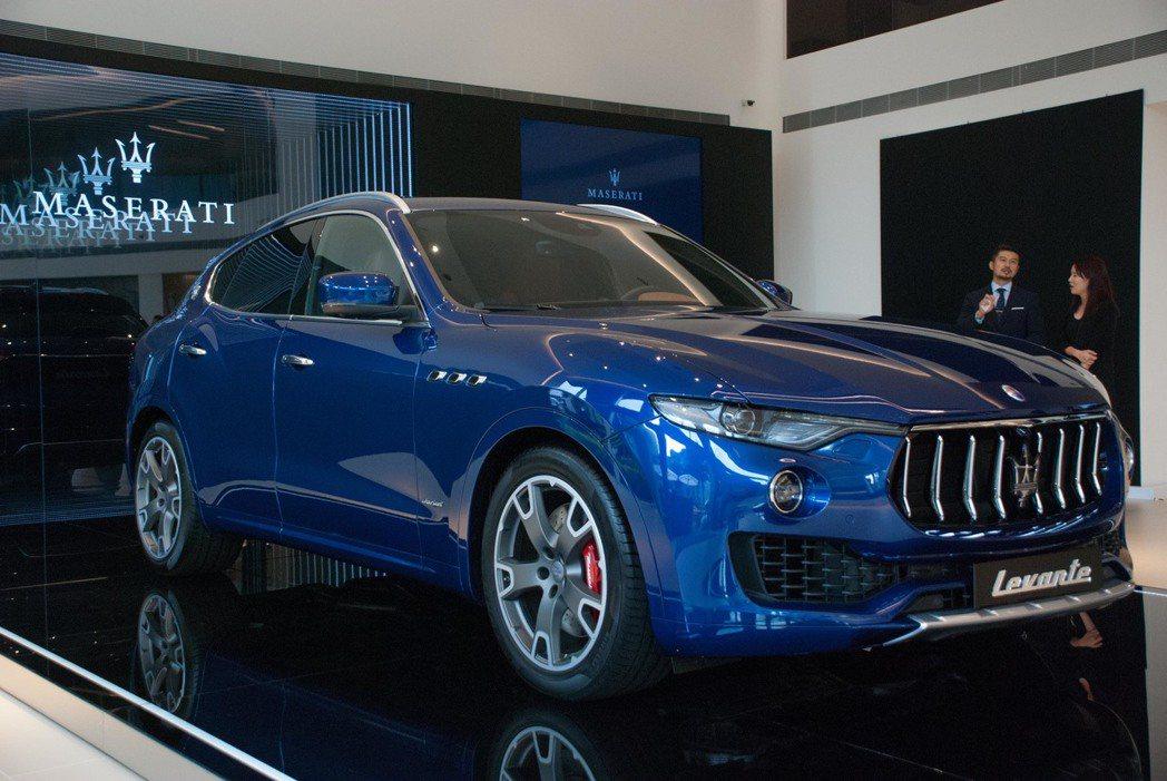 18年式Maserati Levante。記者林昱丞/攝影