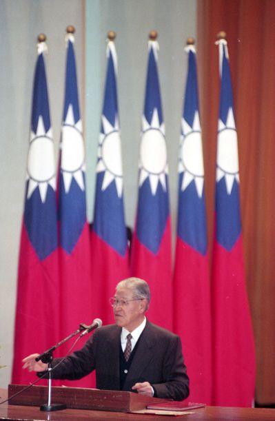 1993年,我方原本堅持由李登輝總統出席APEC峰會。 報系資料照