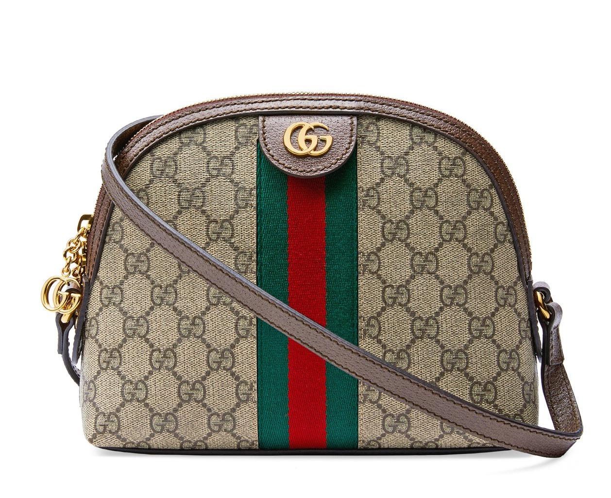 雙G Logo 肩背包, NT$ 43,400。