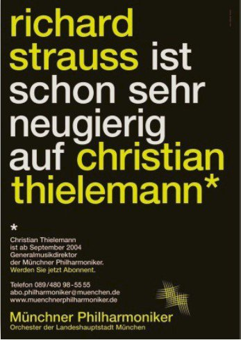 海報主題:理查•史特勞斯想看看Christian Thielemann這個傢伙要...