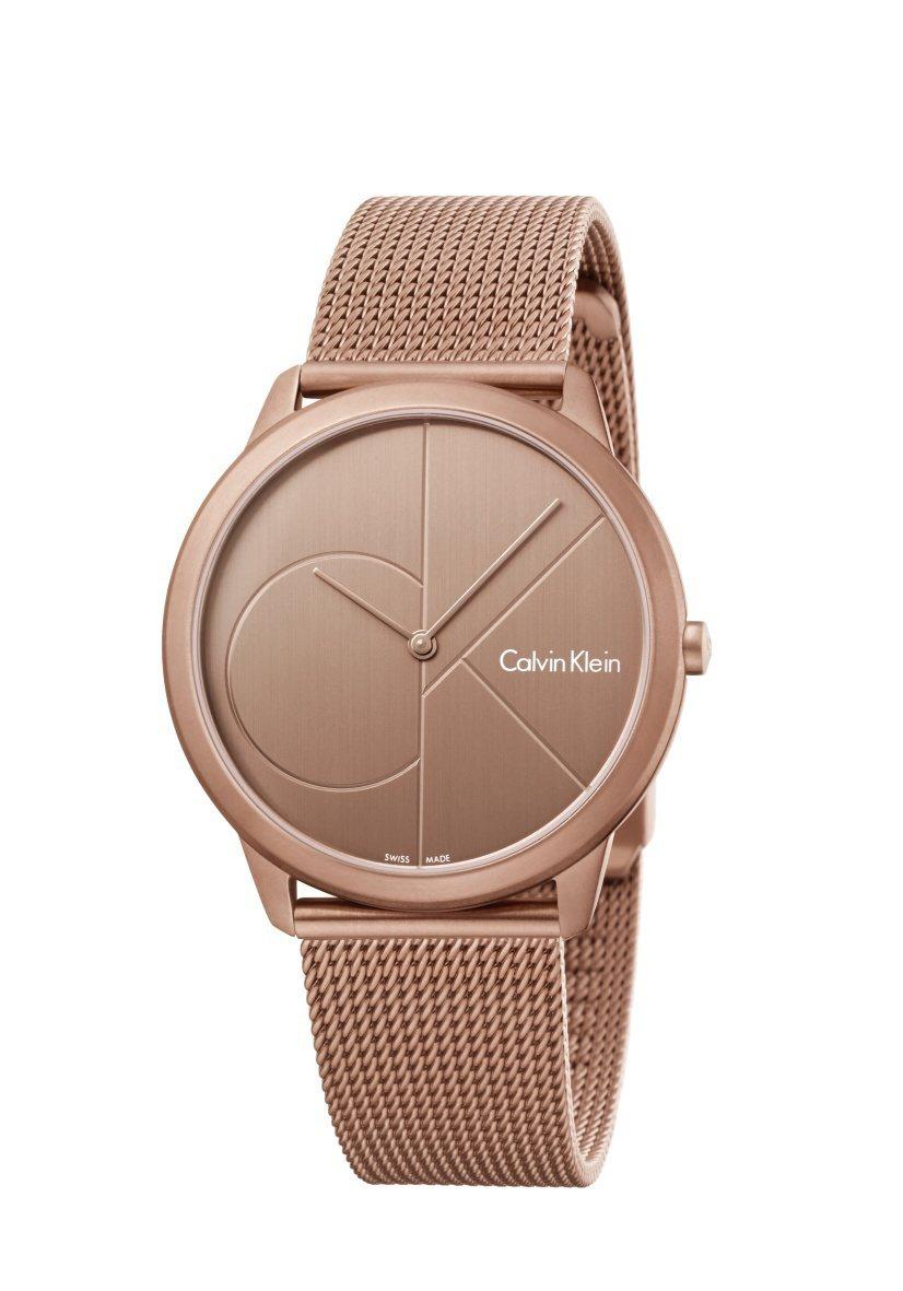 Calvin Klein minimal系列腕表,約9,100元。圖/Calvi...