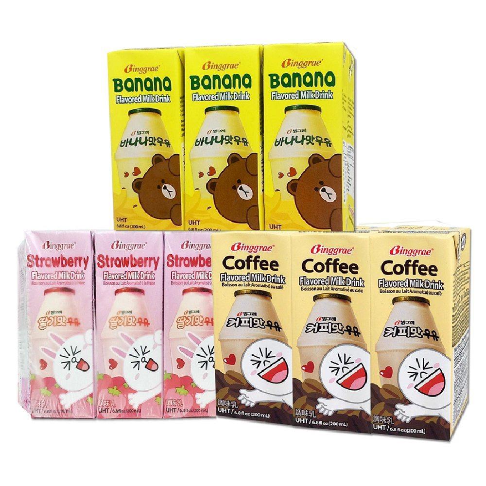 韓味不二韓國Binggrae牛奶組,促銷價599元。圖/momo購物網提供