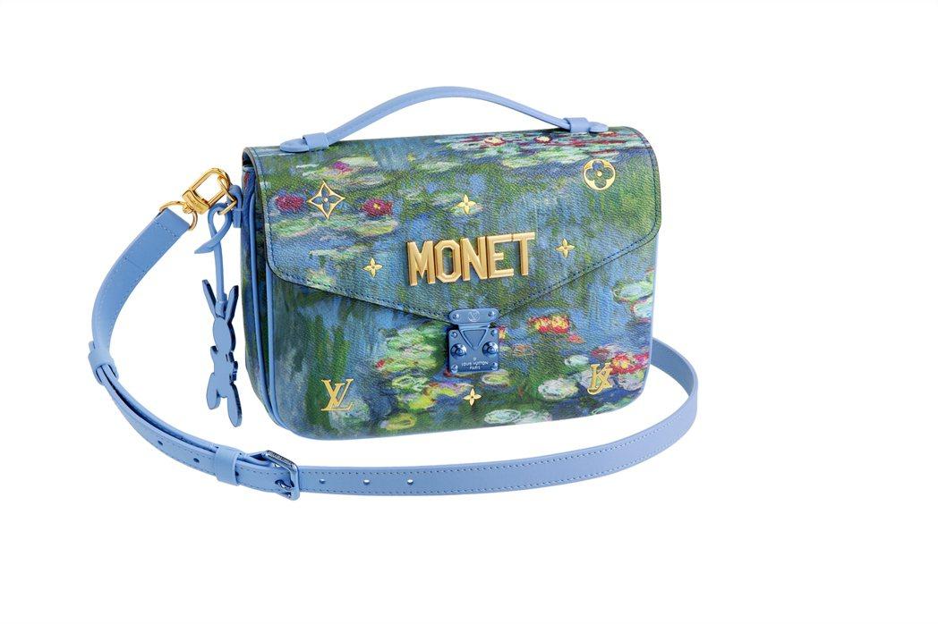 莫內「睡蓮」Pochette Metis包款為第二波大師系列新包袋,售價11萬4...