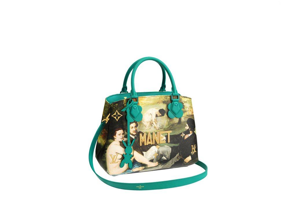 馬奈「草地上的午餐」Montaigne包款,售價13萬5,000元。圖/LV提供