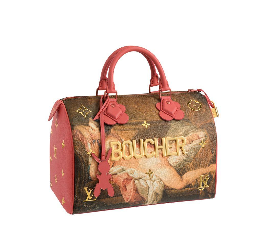 布雪「沙發上的少女」Speedy包款,售價94,000元。圖/LV提供