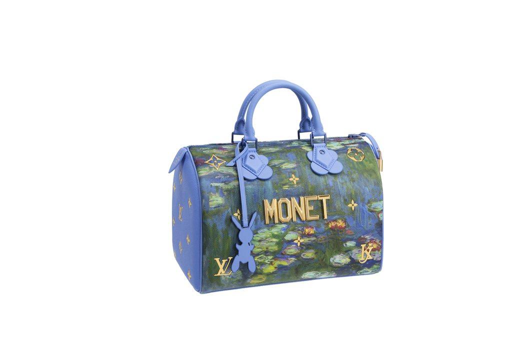 莫內「睡蓮」Speedy包款,售價94,000元。圖/LV提供