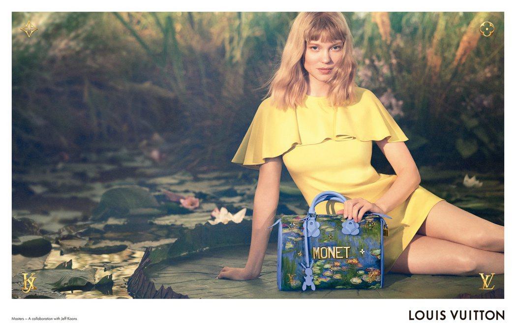 雷雅瑟杜詮釋第二波大師系列的形象廣告。圖/LV提供