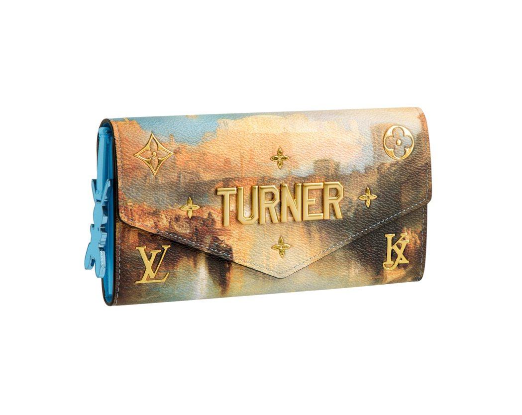 特納「古代羅馬」Sarah長夾,售價54,000元。圖/LV提供