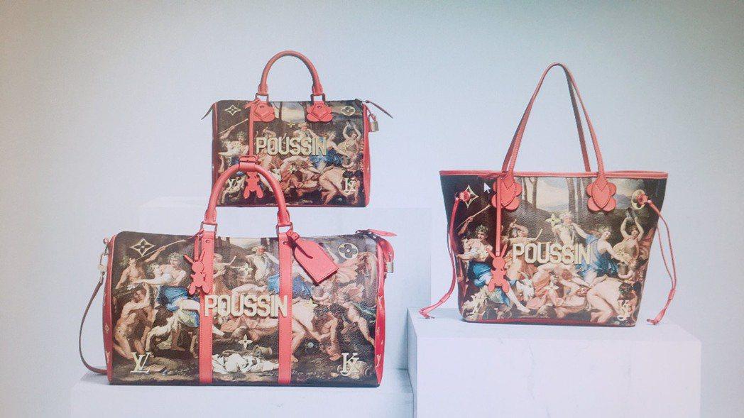 巴黎梵登廣場店獨家販售的普桑「牧羊神的勝利」系列。圖/LV提供