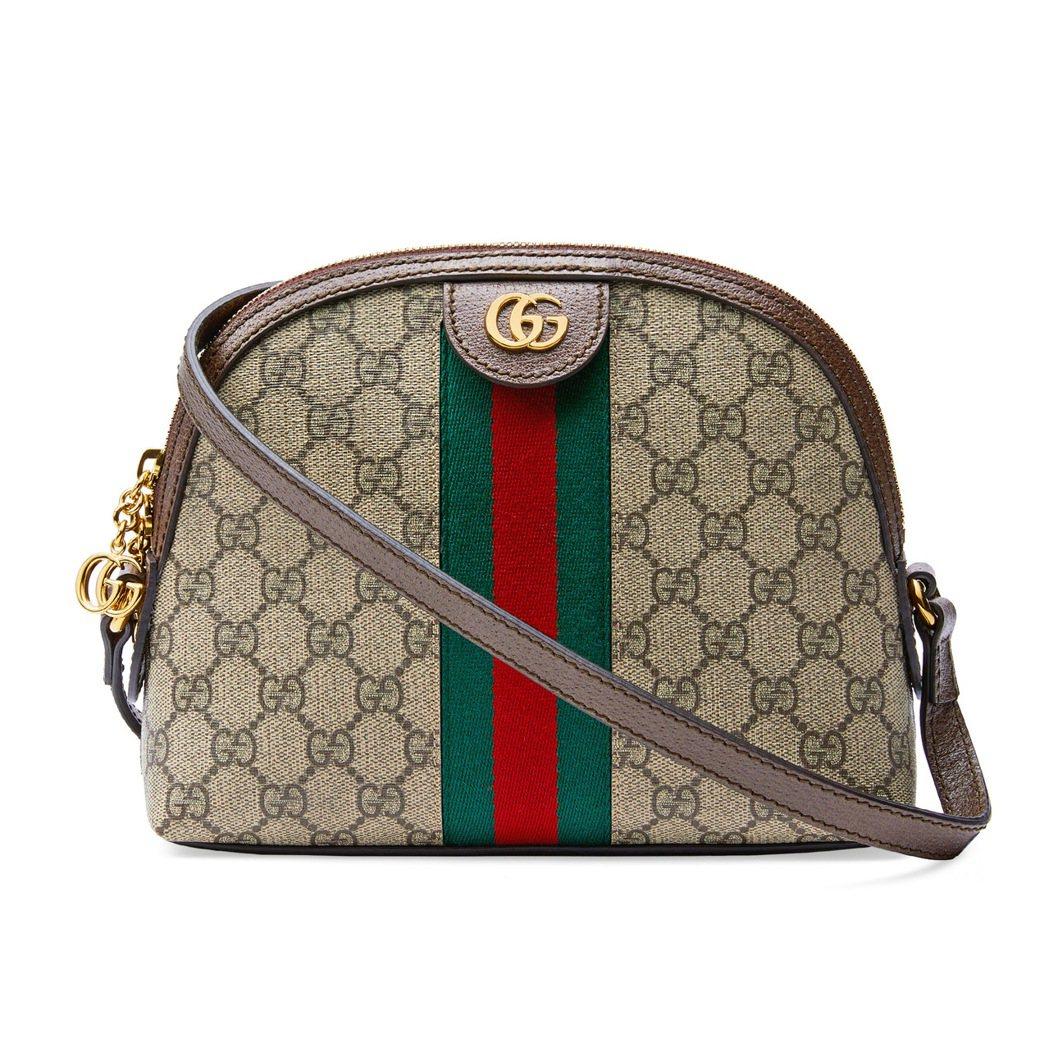 雙G Logo 肩背包,43,400元。圖/Gucci提供