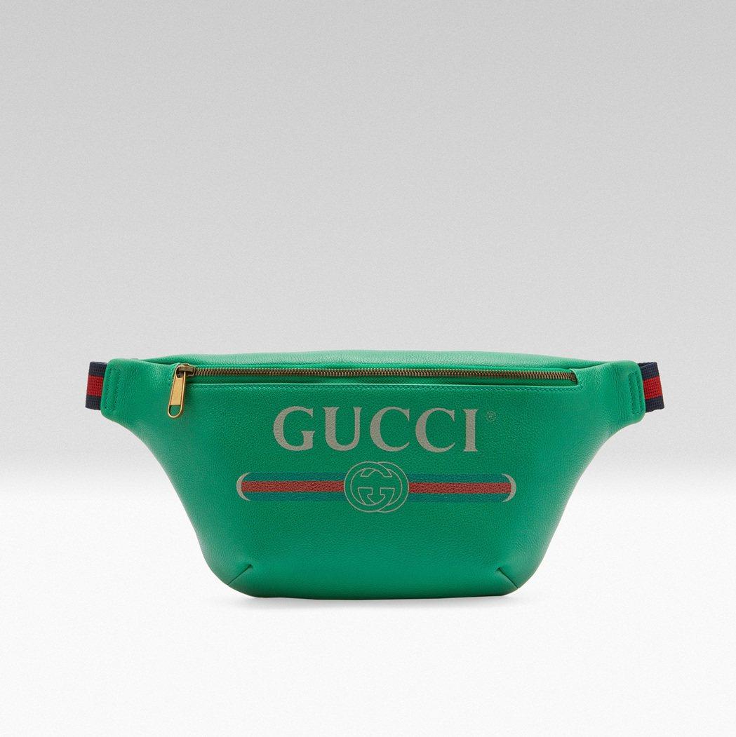 Gucci Logo 腰包,41,200元。圖/Gucci提供