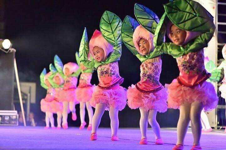 台南市六甲赤山表演藝術坊演出情形。圖/林奇姿提供