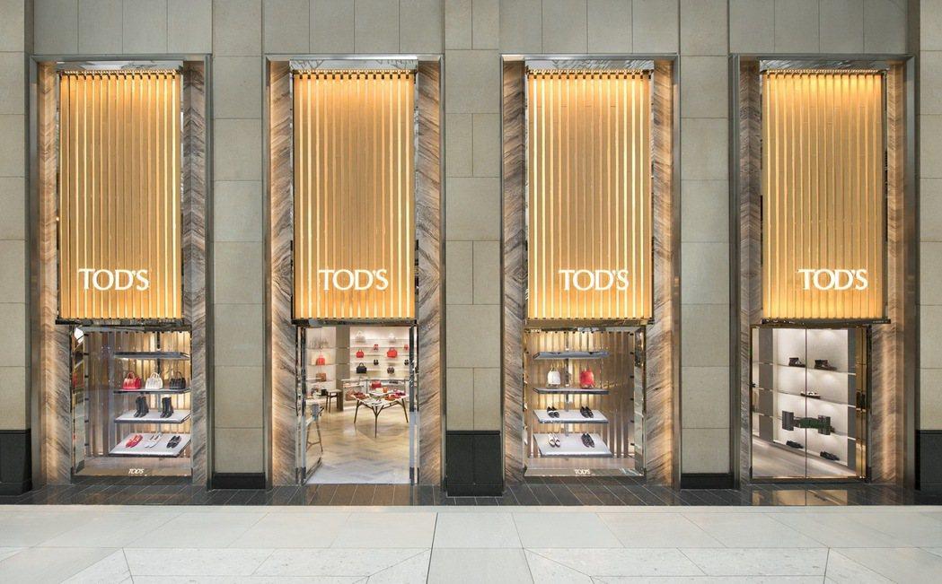 TOD'S香港中環置地廣場全新概念旗艦專賣店。圖/迪生提供