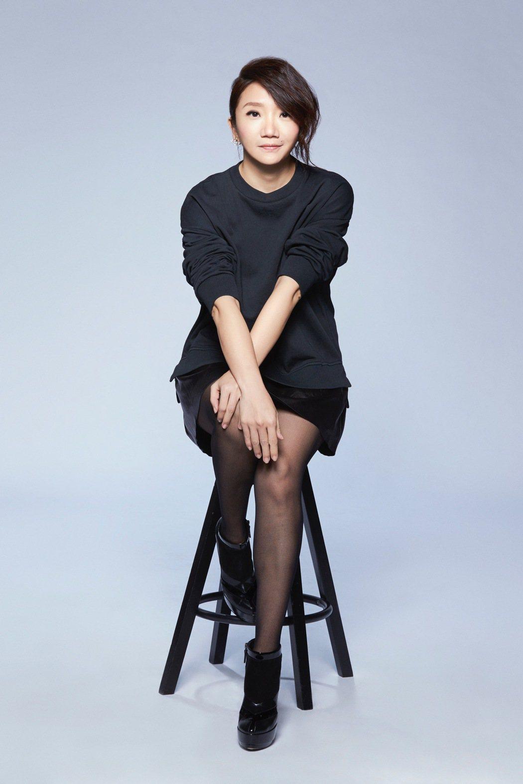 陶晶瑩今年第五度主持金馬獎。圖/台視提供