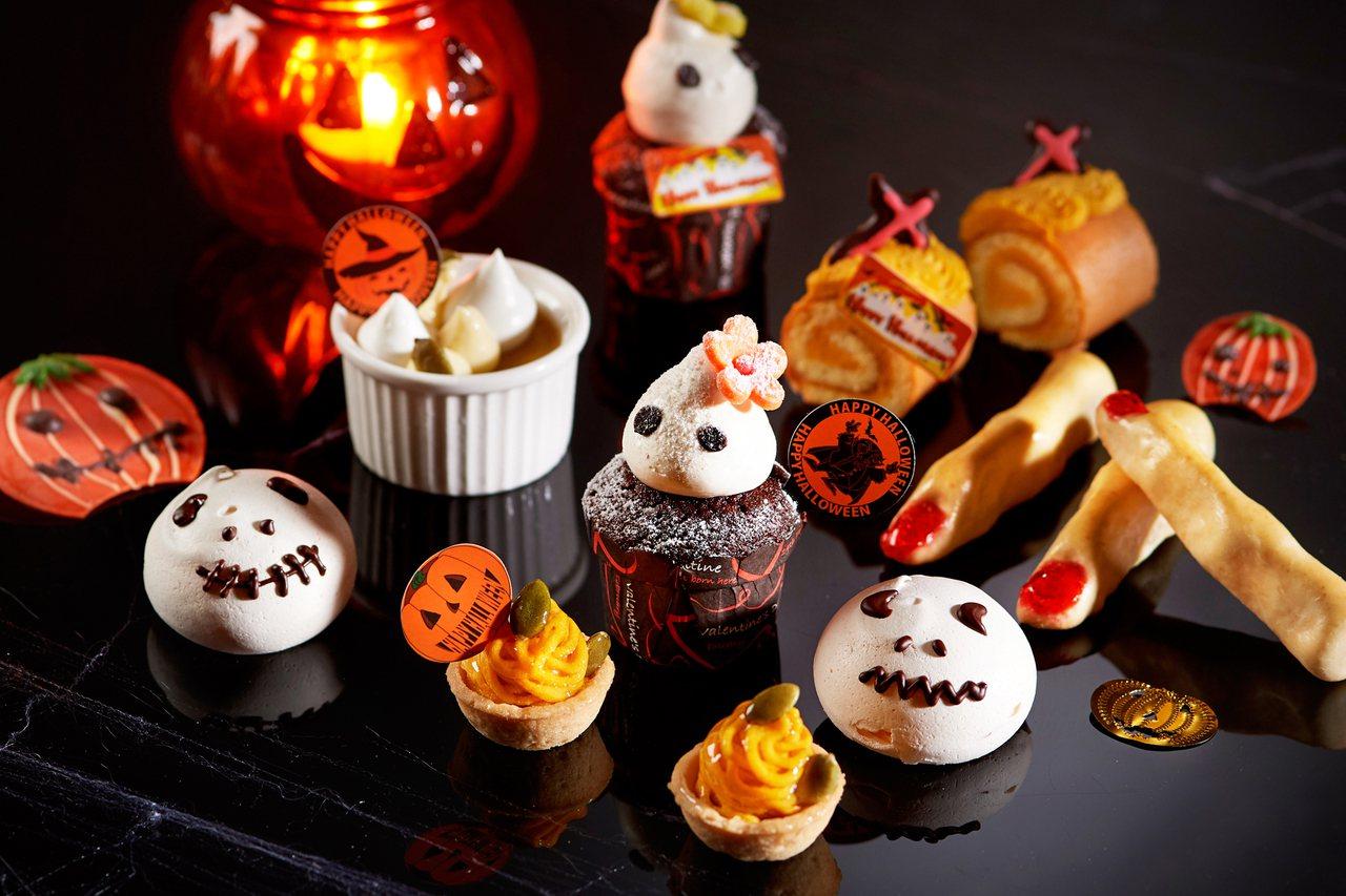 台北福華飯店自助餐萬聖節「Happy Halloween」創意餐飲系列。圖/台北...