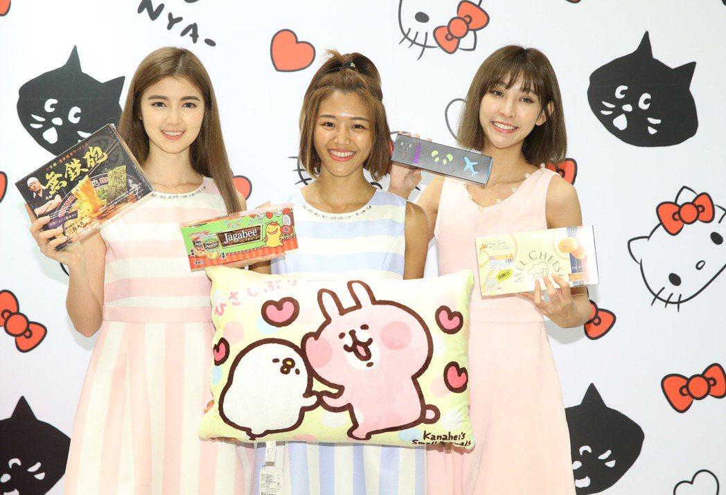 新光三越在周年慶舉辦「日本商品展」,引進眾多話題美食及伴手禮。記者林俊良/攝影