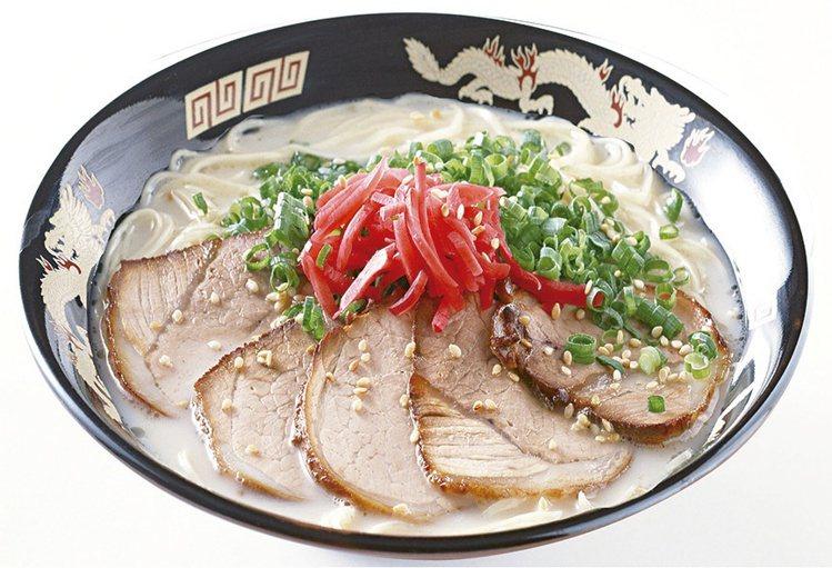 神田川拉麵鹽味豚骨叉燒拉麵,280元。圖/新光三越提供