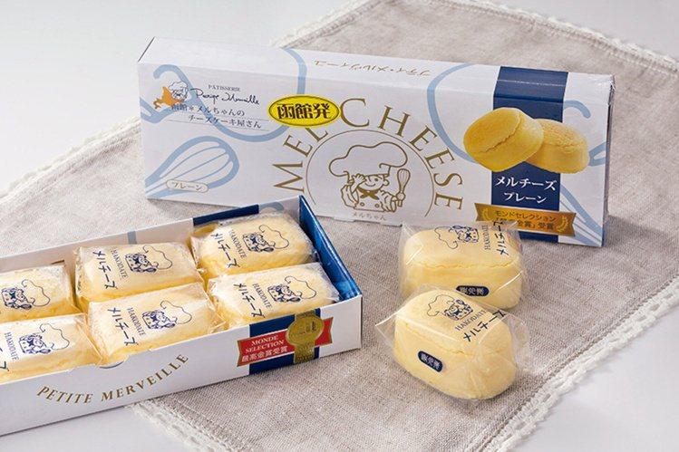 Petite Merveille MEL起士蛋糕(8入) ,500元。圖/新光三...