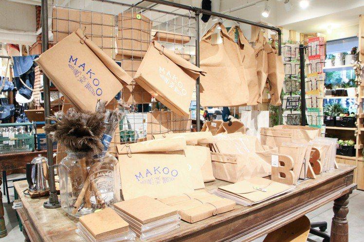 niko and…MAKOO系列商品。圖/謝欣倫攝影
