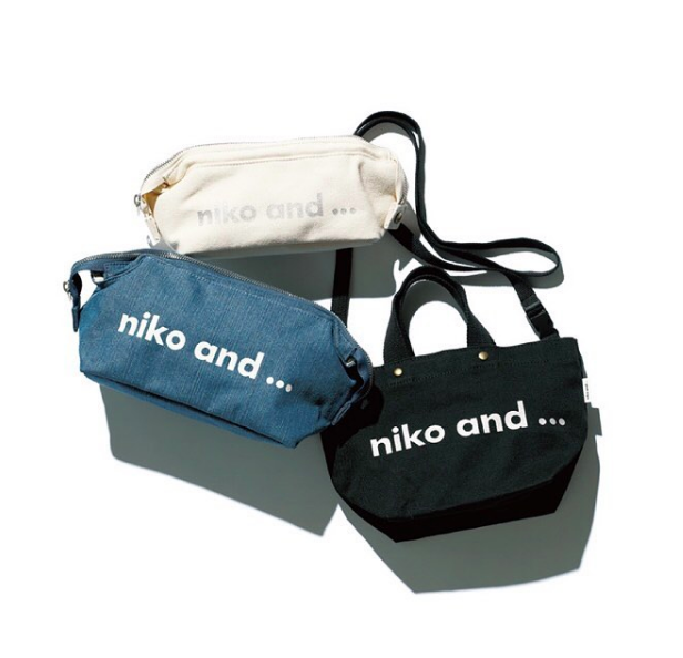 niko and…在日本熱賣的Logo系列托特包。圖/摘自IG:niko and...