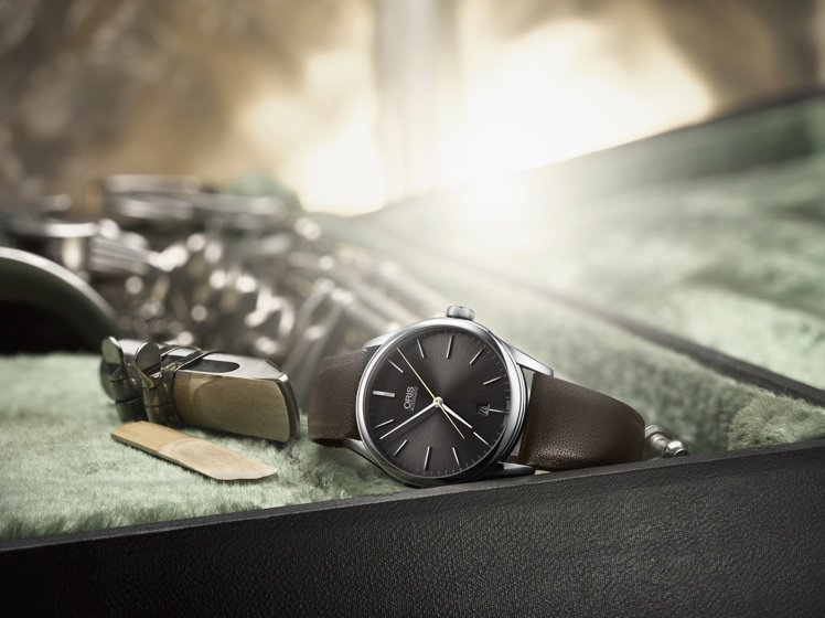 Oris Dexter Gordon限量表,40毫米不鏽鋼表殼、自動上鍊機芯,附...