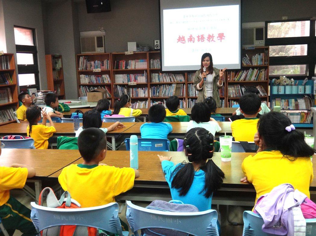 後年起東南亞語將列為國小本土語言課程選項,但至今仍無合格師資,教育部擬開放僑外生...
