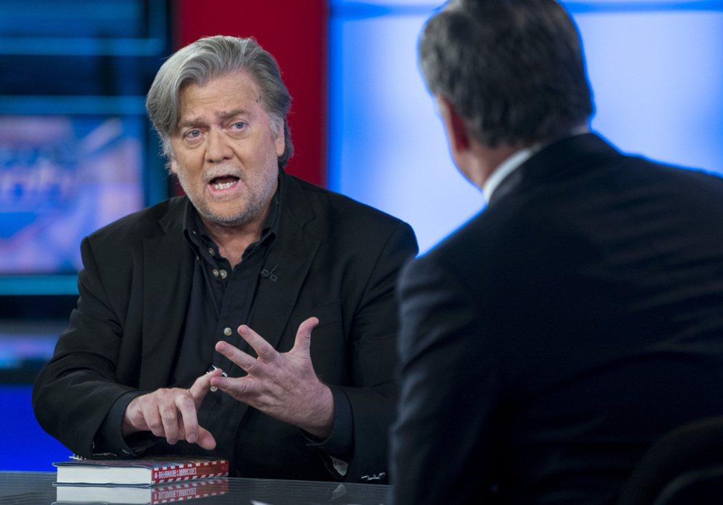 巴農本月9日在紐約的電視受訪。美聯社