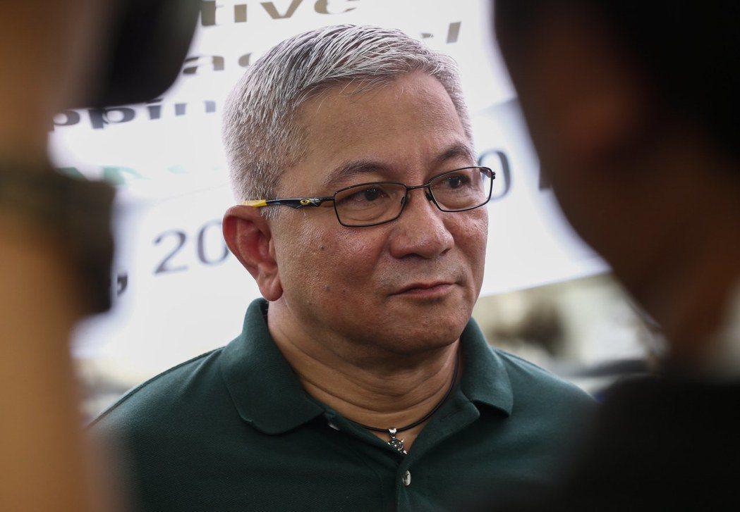 菲律賓總統杜特蒂宣布,未來掃毒行動將由緝毒署統管,圖為緝毒署署長艾奇諾。歐新社